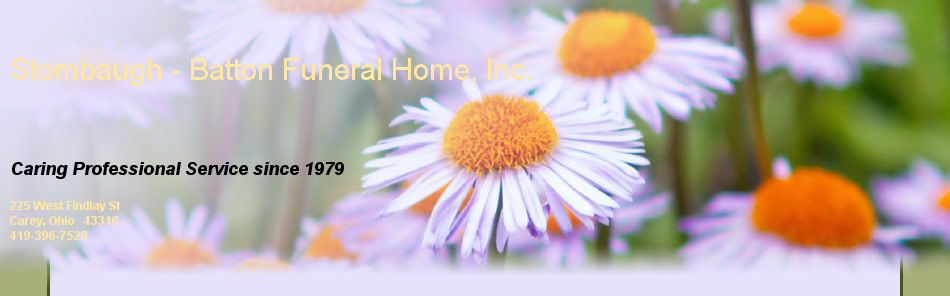 Stombaugh - Batton Funeral Home, Inc.